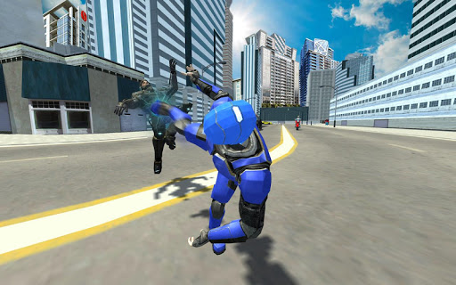 Super Light Speed Robot Superhero: Speed Hero  captures d'écran 5
