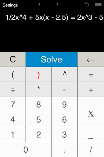 Quartic Equation Calculator