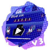 Blue ink PlayerPro Skin