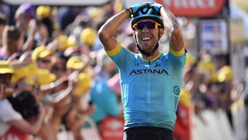 Omar Fraile conquista el primer triunfo español en el Tour 2018