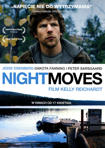 Przód ulotki filmu 'Night Moves'