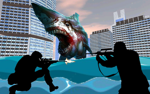 Shark City Attack : Shark Games 1.3 screenshots 3
