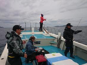"""Photo: そして、前方3名様は愛知県から! ・・・あっ、一番前は地元の""""シライシさん""""です。"""