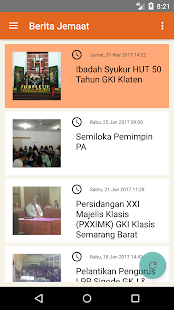 GKI SinWil Jateng Mobile- screenshot thumbnail
