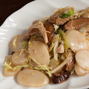 Shanghai Fried Rice Cake (Chicken)