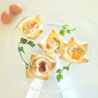 Bacon and Egg Pastries.