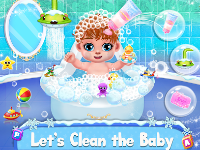 Ice Princess Pregnant Mom and Baby Care Games 3