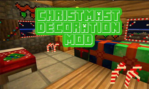 Christmas santa skin and map for MCPE - náhled