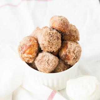 Cinnamon Roll Pretzel Bites