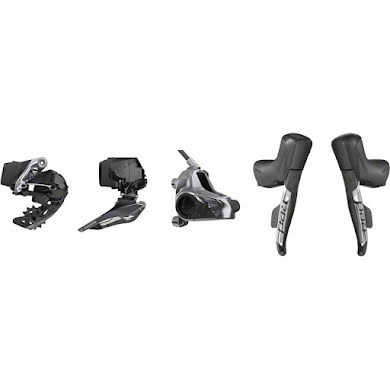 SRAM Red eTap AXS 2x Flat Mount HRD Electronic Groupset Thumb
