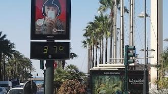 Los termómetros rondarán los 40 grados este miércoles.
