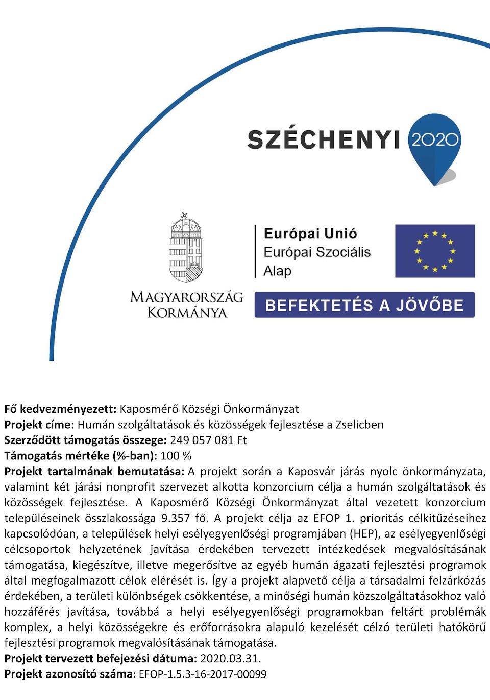 Humán szolgáltatások és közösségek fejlesztése a Zselicben