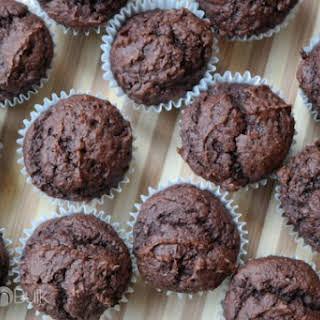 Weight Watchers Chocolate Pumpkin Muffins {1 PointsPlus}.