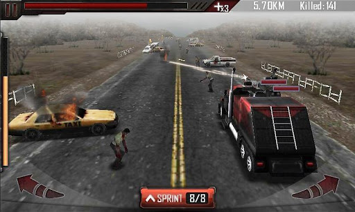 Zombie Roadkill 3D screenshot 2