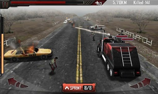 Zombie Roadkill 3D MOD APK (Unlimited Gold) 2