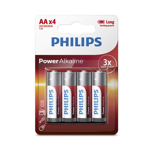 Pin Philips LR6P4B (4 viên AA)