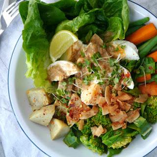 Indonesian Gado Gado Salad.