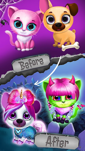 Kiki & Fifi Halloween Salon - Scary Pet Makeover 3.0.25 screenshots 6
