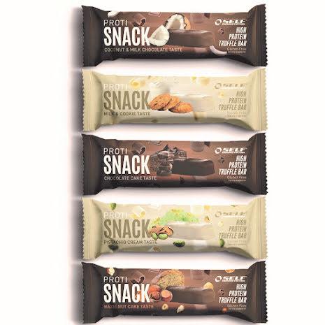SELF Proti Snack Truffle Bar 45g Milk & Cookie - 1st