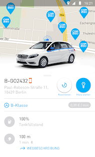 car2go – Miniaturansicht des Screenshots