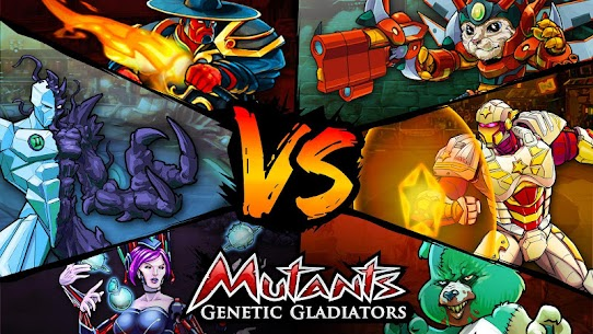 Mutants Genetic Gladiators Apk Download For Android and Iphone Mod Apk 1