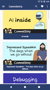 Commitstrip - The daily life of coders screenshot