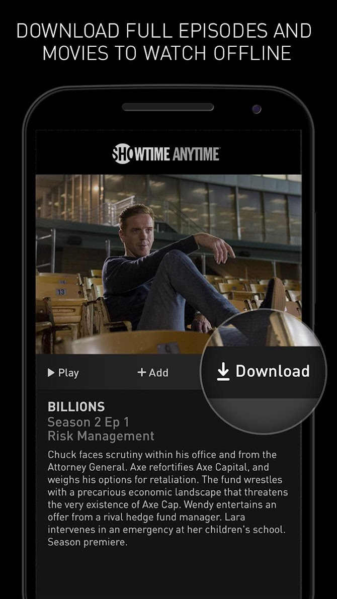 Showtime Anytime Android 4