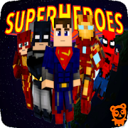 Superheroes Addon Minecraft