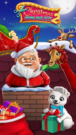 Christmas Animal Hair Salon 2 3.0.30001 screenshots 1