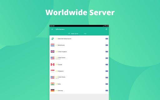 VPN Proxy Master-Free security Screenshot