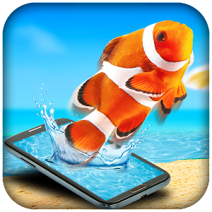 Fish in Phone Prank Icon