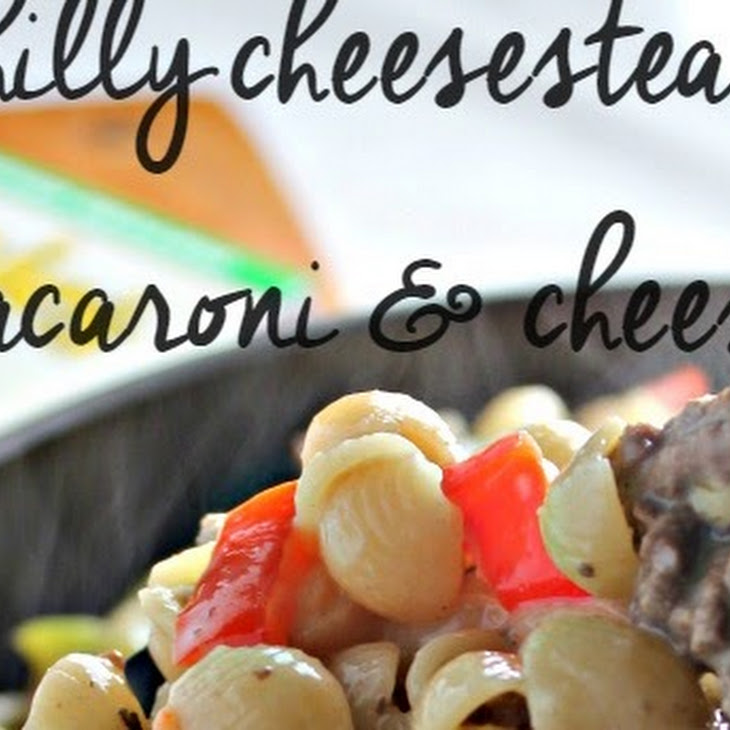 Philly Cheesesteak Macaroni & Cheese Recipe