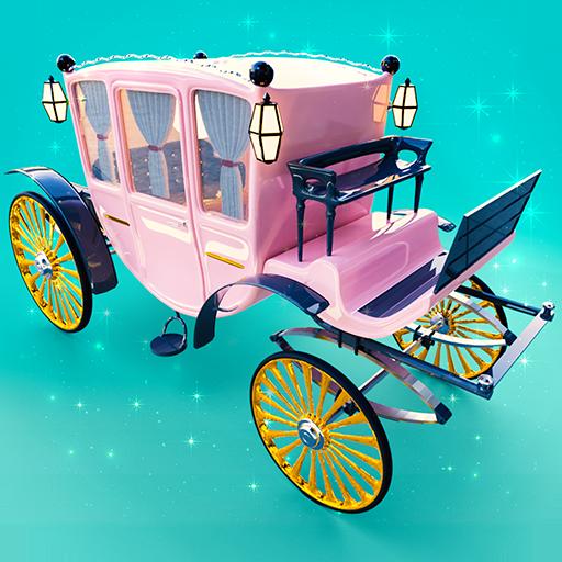 Princess Carriage: Design & Ride. Horse Games 2018