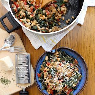 One-Pot Sausage, White Beans, & Kale.