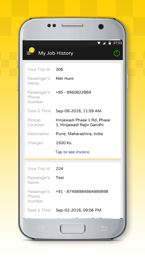 GoTaxi-Driver- screenshot