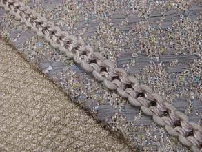 Photo: Ткань:Шанель ш.140см.цена 10000руб. Ткань :Шанель ш.130см. цена 10000руб. Тесьма цена 550руб.