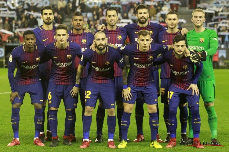 En tant qu'ancien joueur du Barça, ce joueur a les crocs
