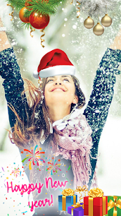 Happy New Year Photo Stickers App with Effects - náhled