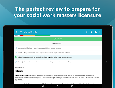 ASWB® MSW Social Work Exam Guide & Practice Test- screenshot thumbnail