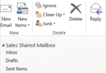 Share mailbox in 2016 version