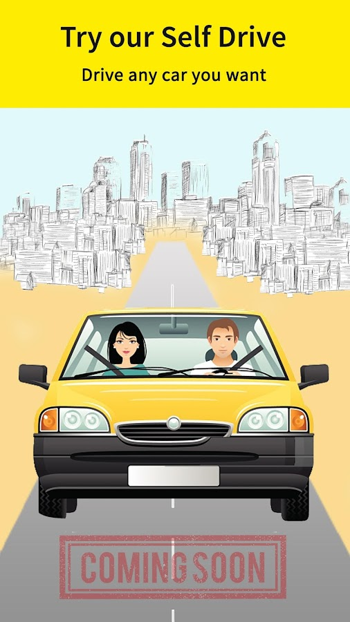 Screenshots of Book Ola Uber or Easy Cabs for Android