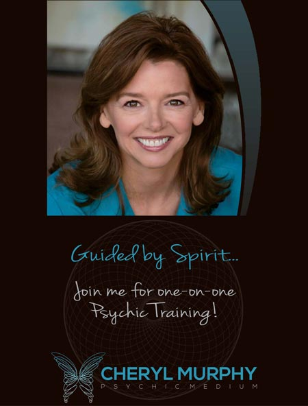 Psychic training with Gifted Psychic and Spiritual Medium Cheryl Murphy