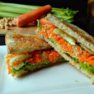 "Vegan ""Tuna"" Salad Sandwich"