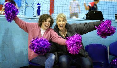 Photo: Our cheerleaders!!! Photo from the match between CELTS 1 and Birmingham Blackcats at Talybont Sports Centre, Cardiff Uni on 15 Feb 2015