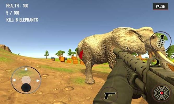 Wild Zoo Animals Hunting City - screenshot