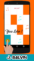 Mi Gente-J.Balvin Piano Tiles APK screenshot thumbnail 2