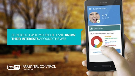 ESET Parental Control Screenshot