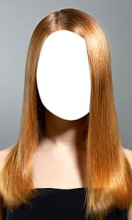 Straight Girl Hair Photo Salon - náhled