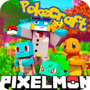 PixelMon mod: cube and craft 3d
