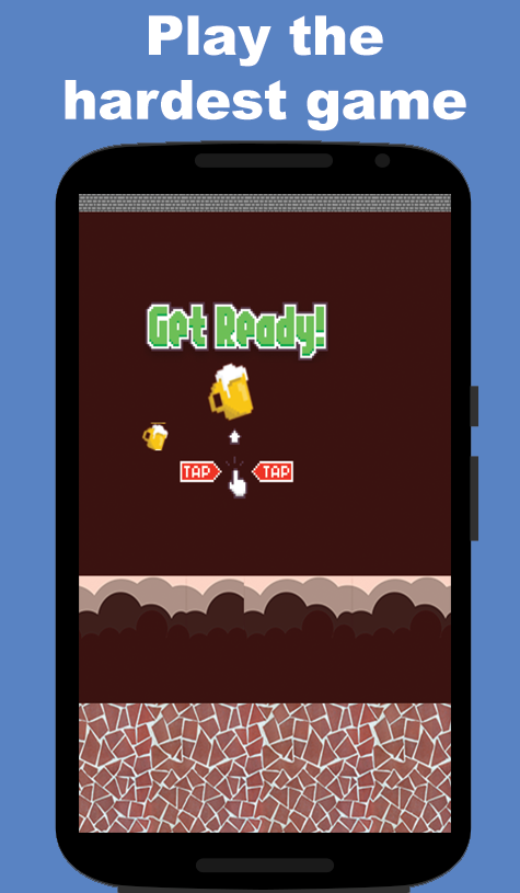 Flappy Beer Beer- screenshot